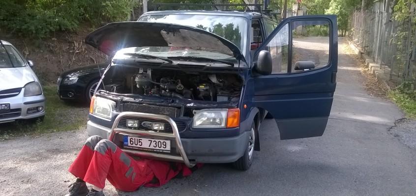 Opravy a úpravy v plném proudu